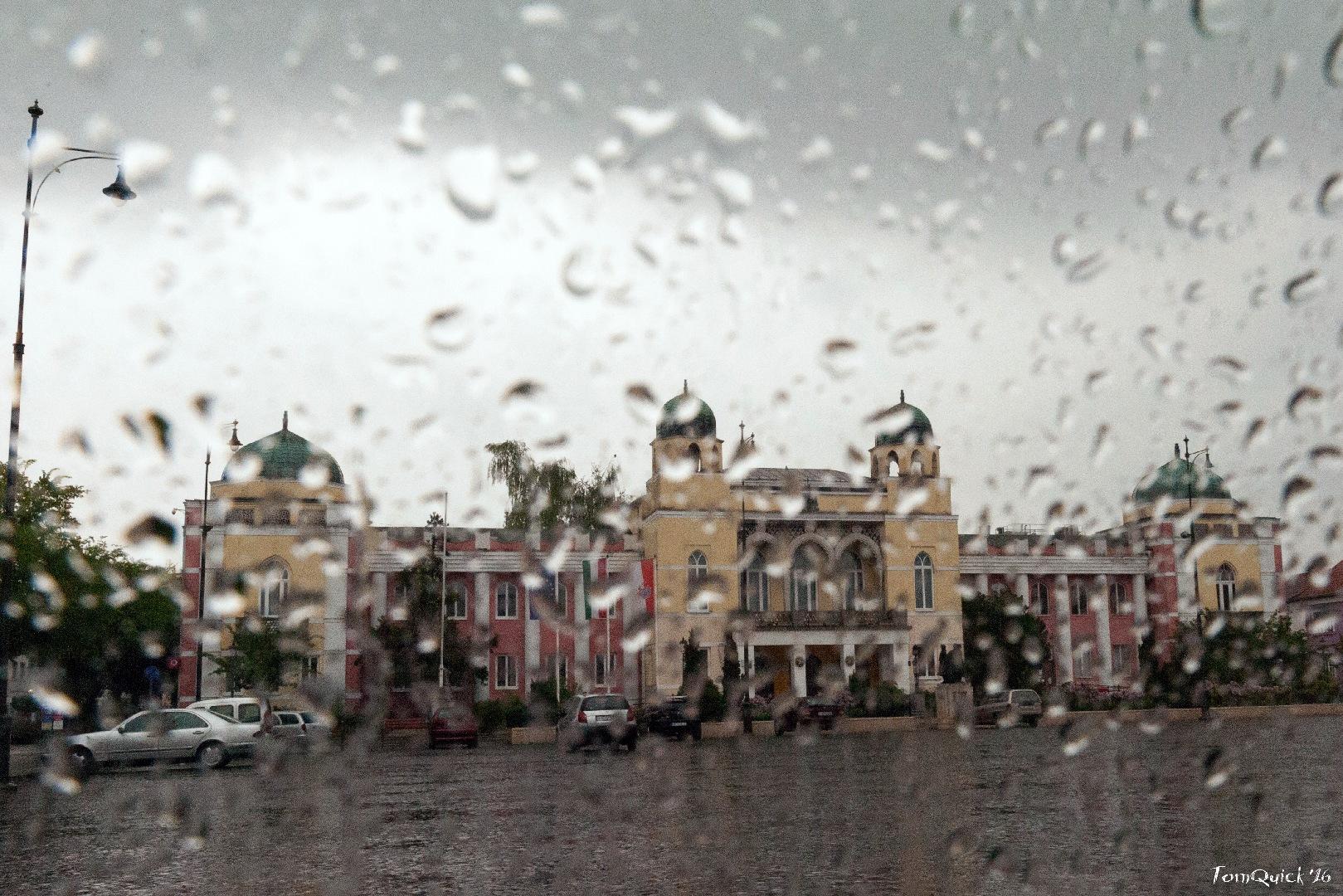 Esős városháza