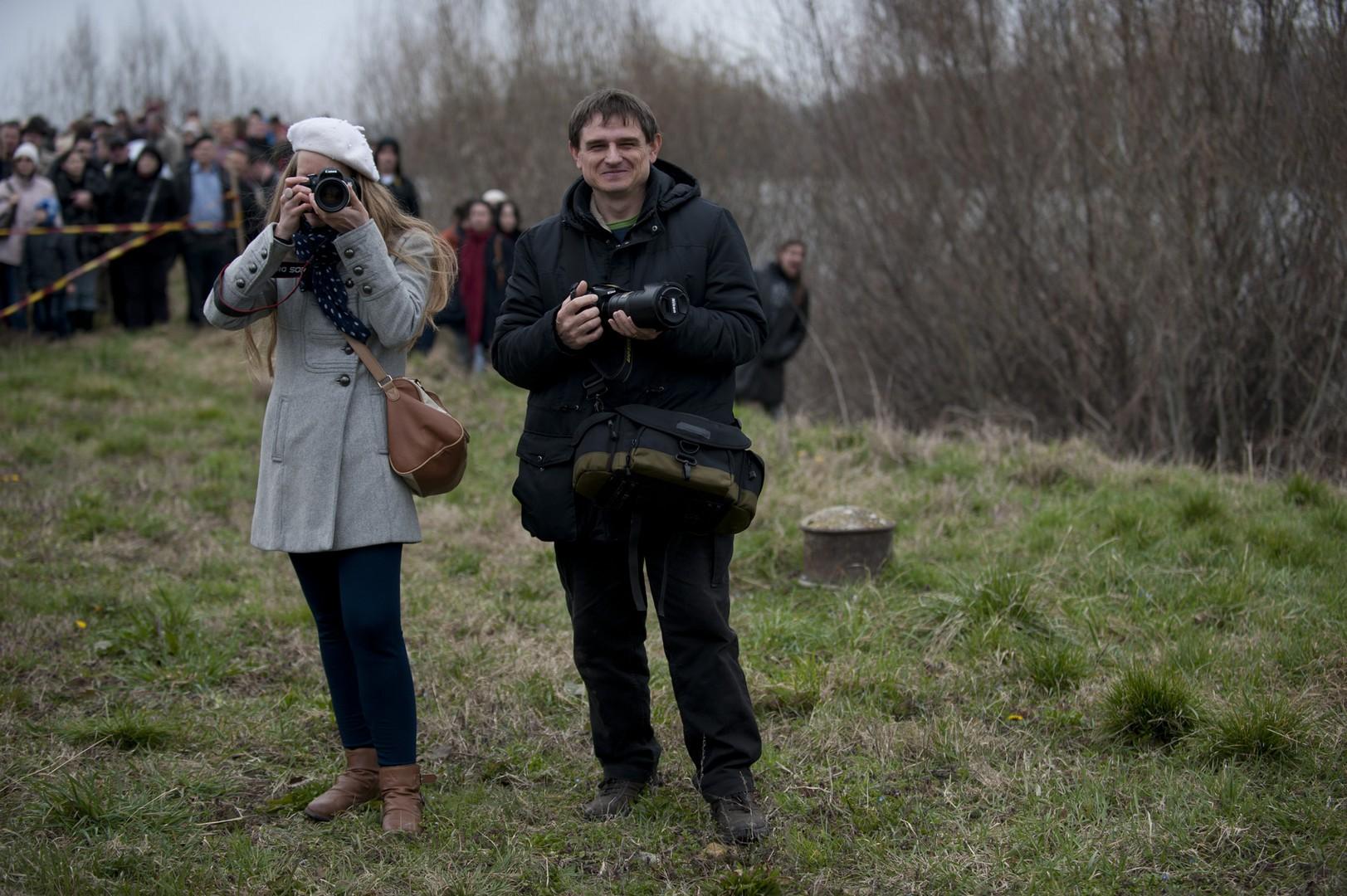 Busójárás - Dunai átkelés Halasi Tünde barátommal és kollégámmal