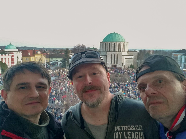 Busójárás (2019) - Juhász Balázs és Bezdán József fotós kollégáimmal